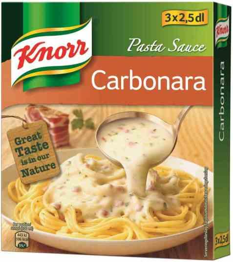 Bilde av Knorr pastasaus carbonara 3 pakke.