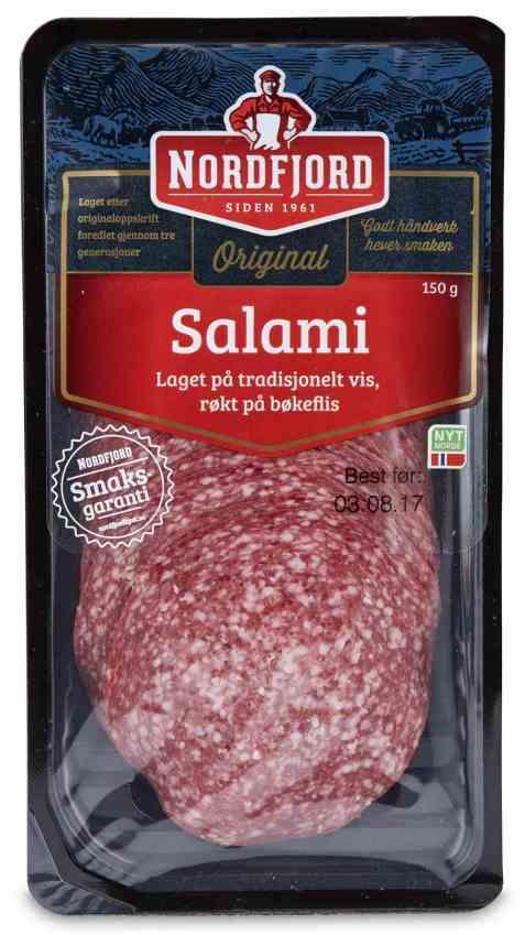 Bilde av Nordfjord salami 150 gr.