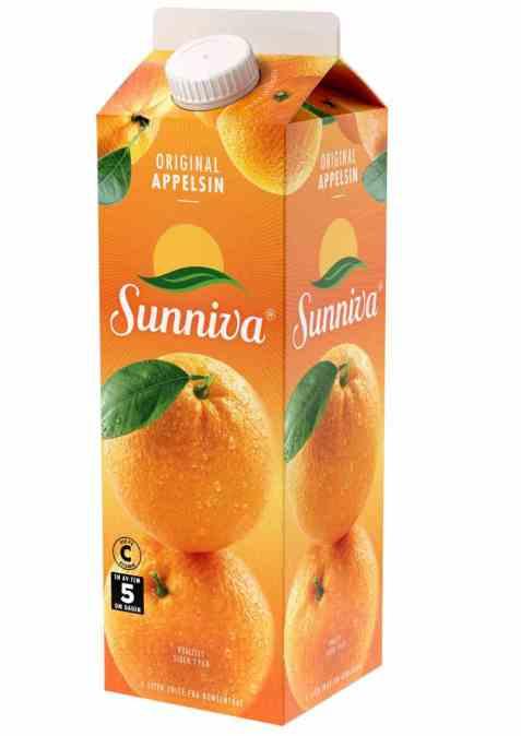 Bilde av Tine Sunniva Original Appelsinjuice.