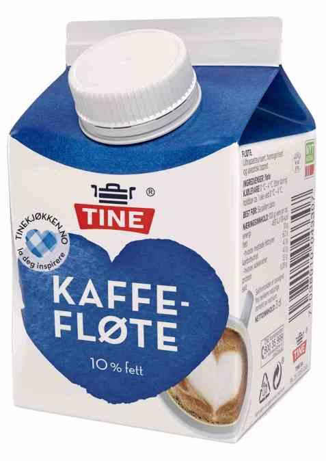 Bilde av TINE Kaffefløte.