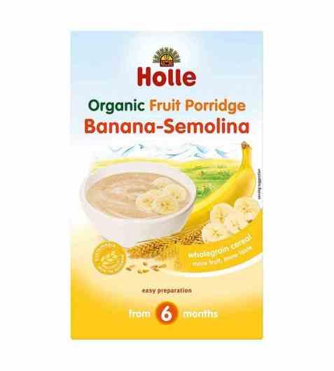 Bilde av Holle Semulegrøt med banan.