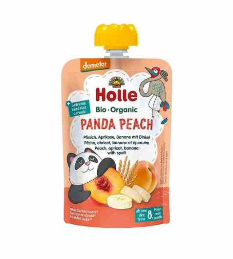 Bilde av Holle Smoothie panda peach.