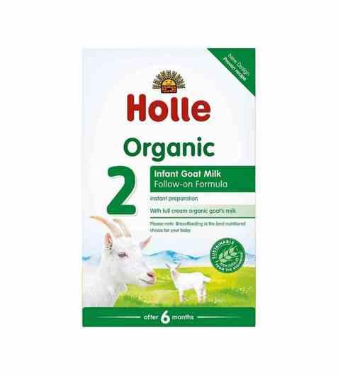 Bilde av Holle tilskuddsblanding geitemelk nr 2 400 gr.