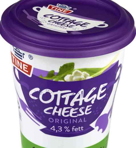 Bilde av Tine Cottage Cheese Original.