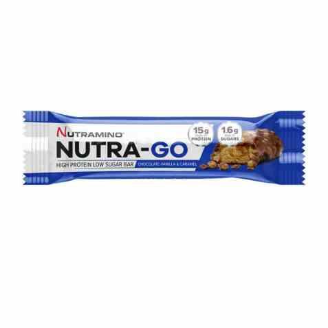 Bilde av Nutramino nutra go crispy caramel.