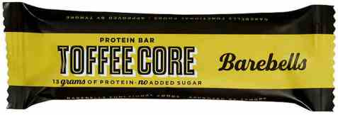 Bilde av Barebells proteinbar toffee core.
