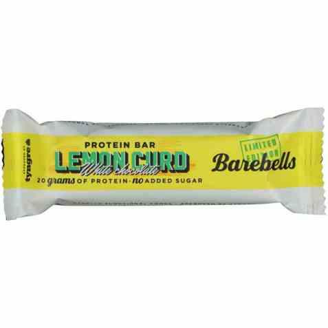 Bilde av Barebells proteinbar lemon curd.