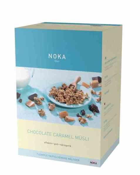 Bilde av Noka Chocolate Caramel Müsli.