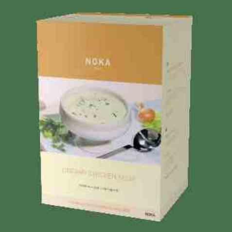 Bilde av Noka creamy chicken soup.