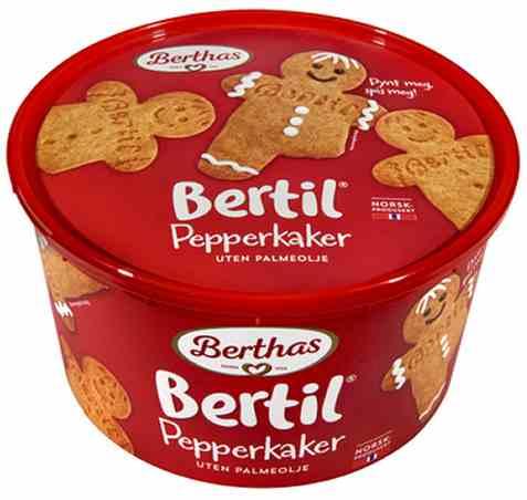 Bilde av Berthas pepperkaker bertil.