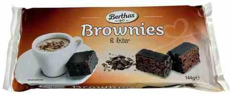 Bilde av Berthas brownies 8 biter.