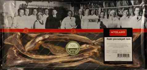 Bilde av Mydland pinnekjøtt røkt 1,2 kg.