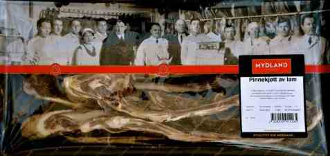 Bilde av Mydland pinnekjøtt kuttet 1,2 kg.