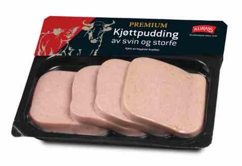 Bilde av Kuraas kjøttpudding premium.