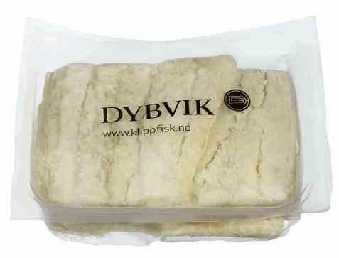 Bilde av Dybvik klippfisk benfri 1 kg.
