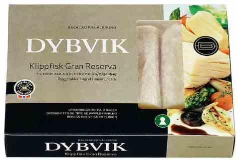 Bilde av Dybvik klippfisk gran reserva modnet 300 gr.