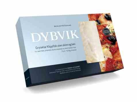 Bilde av Dybvik klippfisk gryteklar 400 gr.