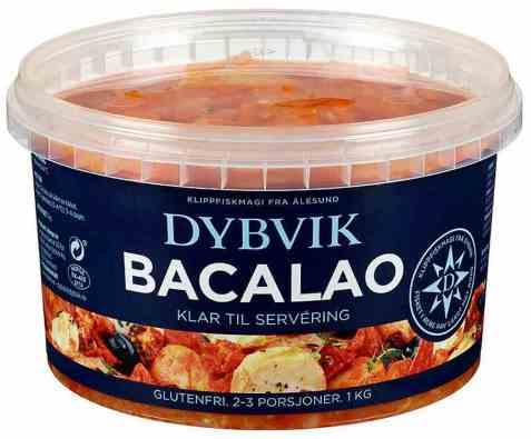 Bilde av Dybvik bacalao serveringsklar.