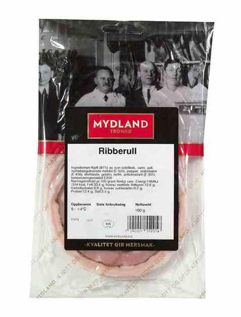 Bilde av Mydland ribberull 100 gr.