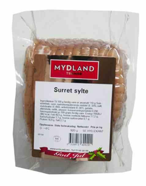 Bilde av Mydland surret sylte kokt 700gr.