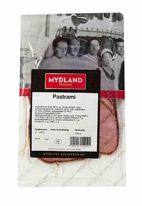 Bilde av Mydland pastrami 100 gr.