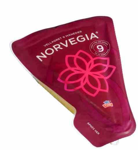 Bilde av Tine Norvegia vellagret med skorpe.