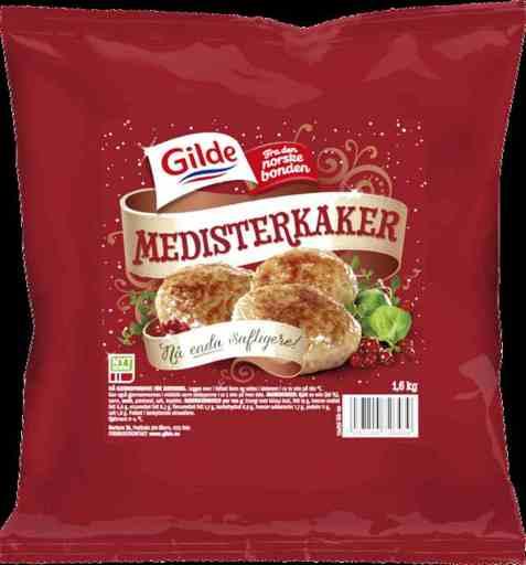 Bilde av Gilde Medisterkaker 1,6 kg.