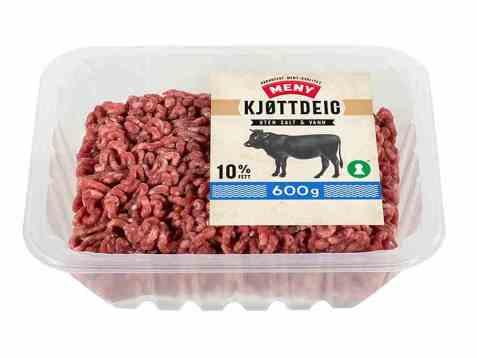 Bilde av Meny kjøttdeig 10 prosent storfe.
