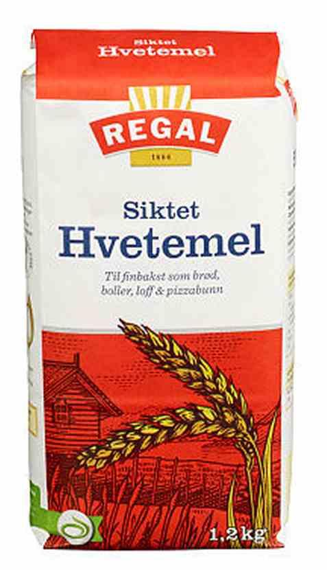 Bilde av Regal Siktet hvetemel 1,2 kg.