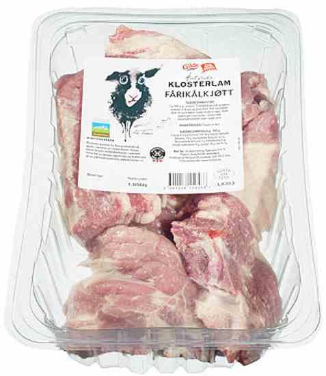 Bilde av Gilde klosterlam fårikålkjøtt.