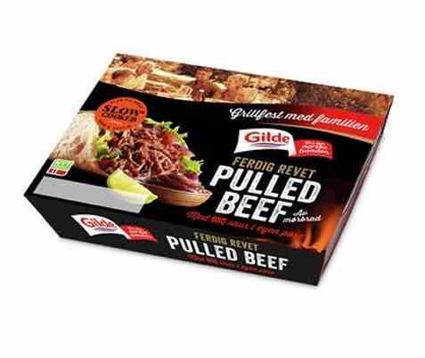Bilde av Gilde pulled beef mørbrad 293gr.