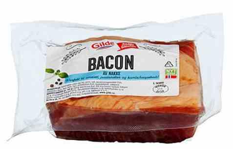 Bilde av Gilde bacon av svinenakke i bit.