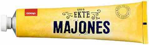 Bilde av Coop Majones Tube 170gr.