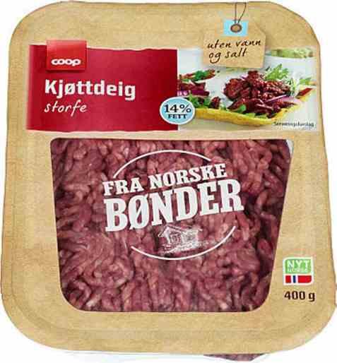 Bilde av Coop kjøttdeig 400gr.
