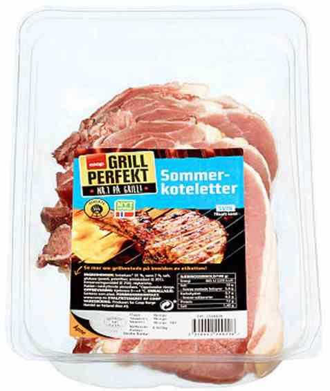 Bilde av Coop grill perfekt Sommerkoteletter 800gr.