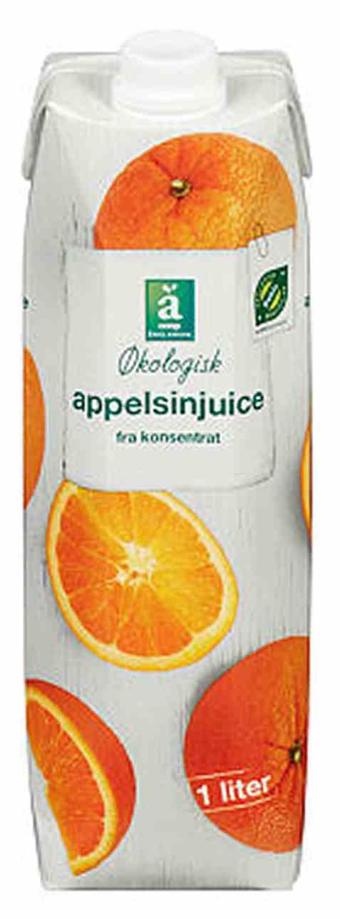 Bilde av Coop anglamark Økologisk appelsinjuice.