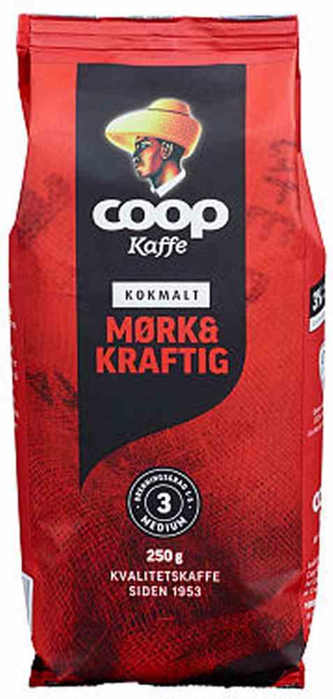 Bilde av Coop kaffe rød kok 250gr.