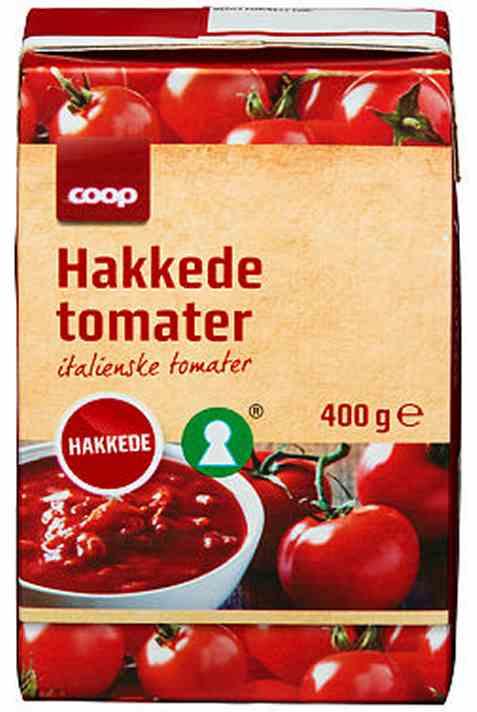 Bilde av Coop Hakkede tomater 400gr.