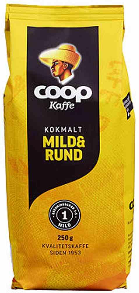 Bilde av Coop kaffe gul kok 250gr.