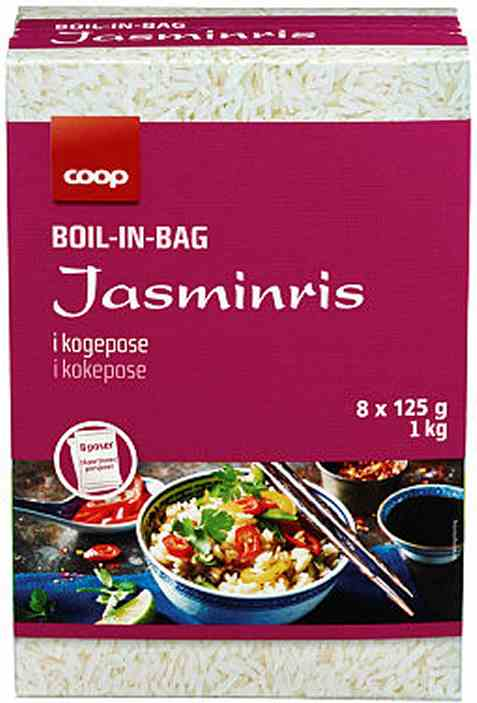 Bilde av Coop boil in bag jasminris.