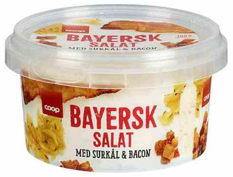 Bilde av Coop bayersk salat 180gr.
