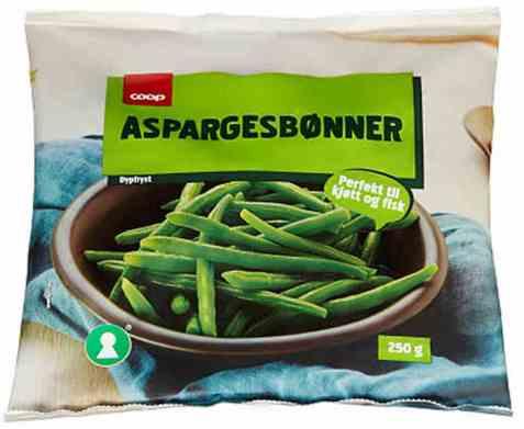 Bilde av Coop aspargesbønner 250gr.
