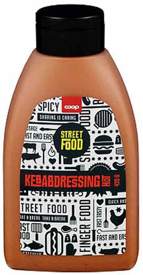 Bilde av Coop kebabdressing hot 435gr.