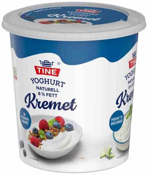 Bilde av TINE Yoghurt Naturell Kremet 850 gr.
