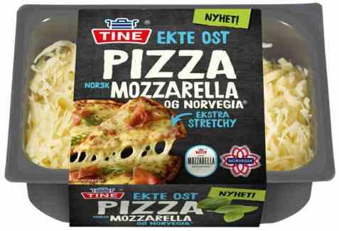 Bilde av Tine revet norvegia og mozzarella.