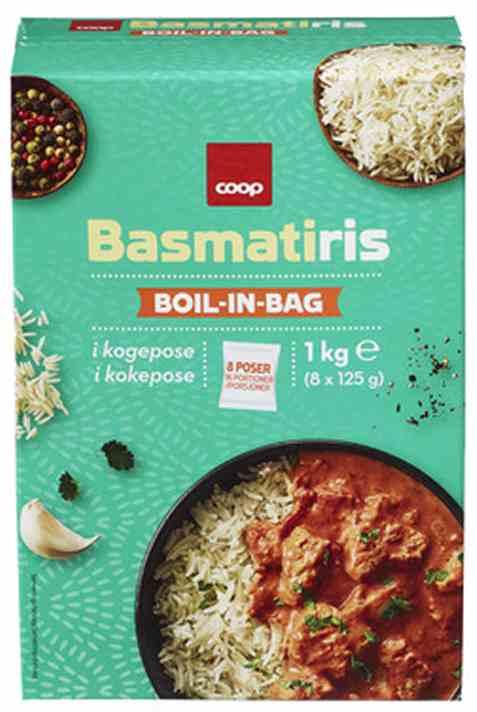 Bilde av Coop boil in bag basmatiris.