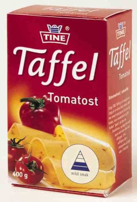 Bilde av TINE Taffel Tomatost.