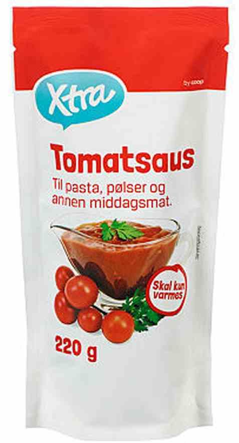 Bilde av Coop Xtra Tomatsaus.