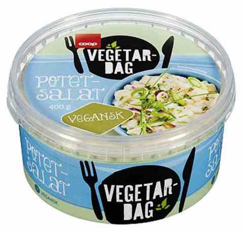 Bilde av Coop vegetardag potetsalat vegan 400g.