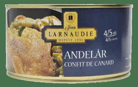 Bilde av Andelår hermetisk, Confit de canard.